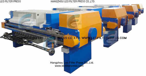 Leo Filter Press Membrane Filter Press Working and Operation Instructions:Membrane Squeezing Equipment