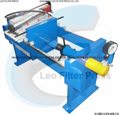 Leo Filter Press Manual Filter Press Operation and Maintenance Instructions